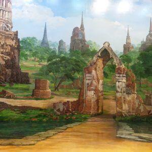 Ruins of City