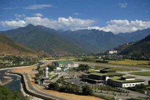 Bhutan-Airport