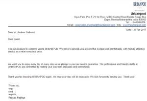 Urbanpod mumbai email