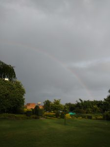 Rainbow over the Fort